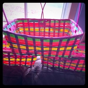 3 identical  Easter baskets